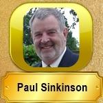 Amazon Author Page of Paul Sinkinson
